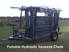 Don't procrastinate on doing your cattle work this season. I can get all of the vaccines and dewormers you need and with the help of a portable hydraulic squeeze chute, make your cattle work as easy and safe as possible. Give me a call today! (361) 676-8681.
